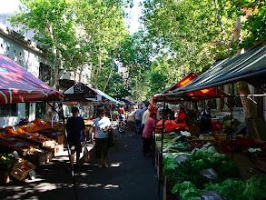 Photo: Montevideo - fruit market near my hotel