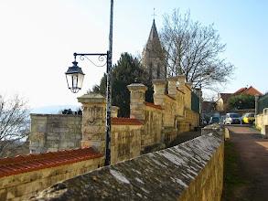 Photo: Rue aux Moines , place Gevelot au fond avec l'Eglise st-Maclou