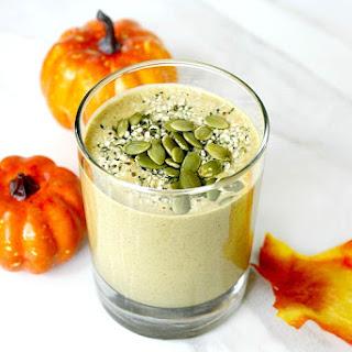 Pumpkin Protein Smoothie (Vegan, Gluten-Free, Dairy-Free, No Refined Sugar)