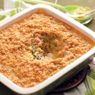 Asparagus and Ham Casserole.