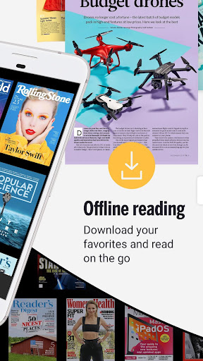 Readly - Unlimited Magazine Reading 4.9.4 Screenshots 2
