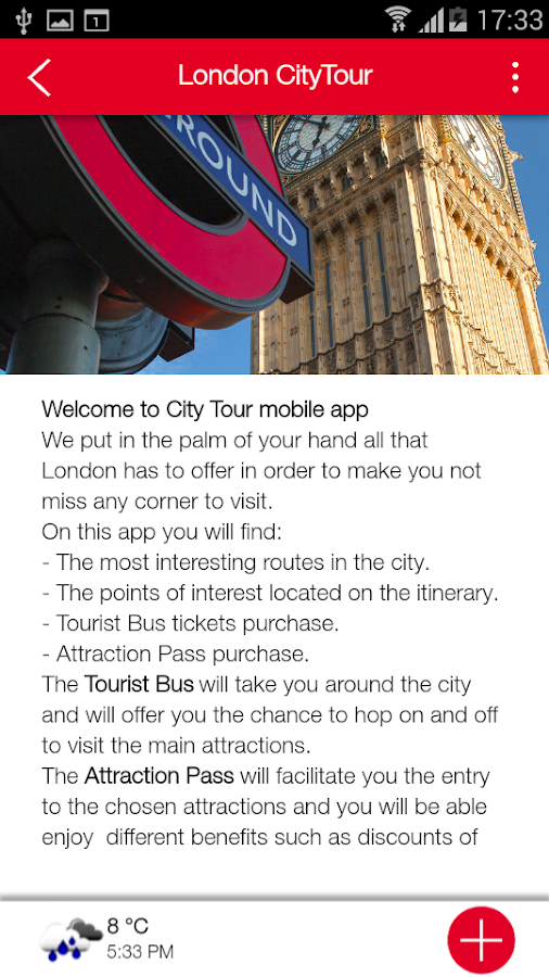 CityTour Worldwide- screenshot