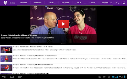 Trevecca Trojans- screenshot thumbnail
