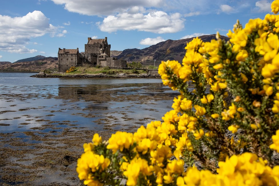 szkockie zamki, Eilean Donan, Szkocja