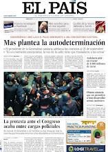 Photo: Mas plantea la autodeterminación, la protesta ante el Congreso acaba entre cargas policiales y Andalucía pide un rescate de 4.900 millones de euros, en nuestra portada del miércoles 26 de septiembre http://srv00.epimg.net/pdf/elpais/1aPagina/2012/09/ep-20120926.pdf