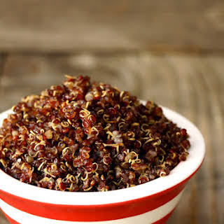 Red Quinoa Crisps.