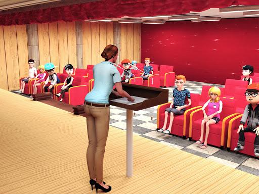 Virtual High School Simulator - School Games 3D apktram screenshots 3