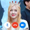 Rose Blackpink - Video Call Prank icon