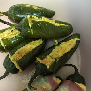 Stuffed Jalapeno Peppers.