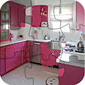 Kitchen Puzzle for Girls FREE icon