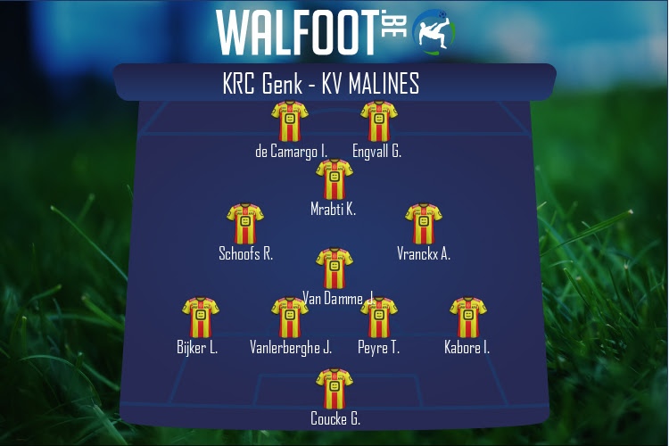 KV Malines (KRC Genk - KV Malines)