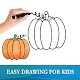Download Easy Drawing for Kids For PC Windows and Mac