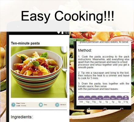 【免費程式庫與試用程式App】麵食食譜-APP點子