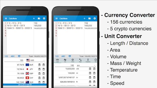 CalcNote Pro – Math Calculator Patched APK 2