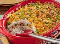Southwestern Layered Rice Recipe