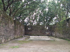 Photo: Guiob Church Ruins. The Church altar should have been there.