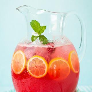 Sparkling Raspberry Lemonade.