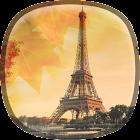 Autumn in Paris Live Wallpaper icon