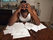 Stress is mounting for many South Africans with no income and bills pilling up. Stock photo.