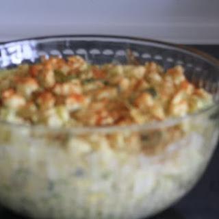 Cauliflower Salad that Tastes Like potato Salad