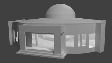 Photo: Modelo 3D - INP Moriah - Blender 3D