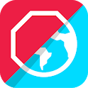 Adblock Browser: Block ads, browse faster icon