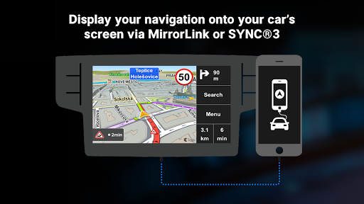 Sygic Car Connected Navigation screenshot 1