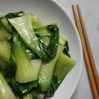 Stir Fried Baby Bok Choy