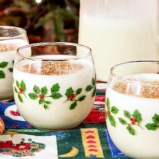 Orange Spice Eggnog Recipe | #tbtfood