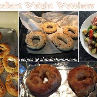2 Ingredient Weight Watchers Bagel.
