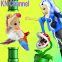 KN Channel Chibi Fly Fun icon