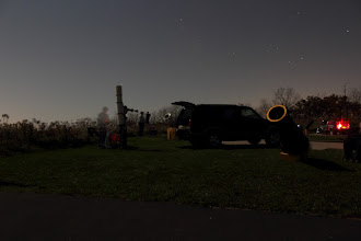 Photo: One of my astronomy club's star parties.