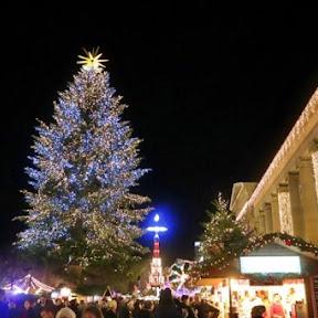 光り輝くイルミネーションがとにかく豪華なドイツ・シュトゥットガルトのクリスマスマーケット