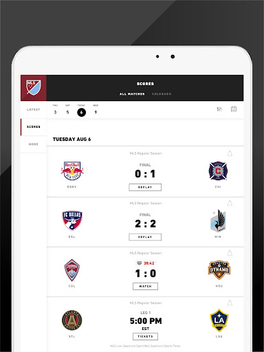 MLS: Live Soccer Scores & News 18.66.2 screenshots 14