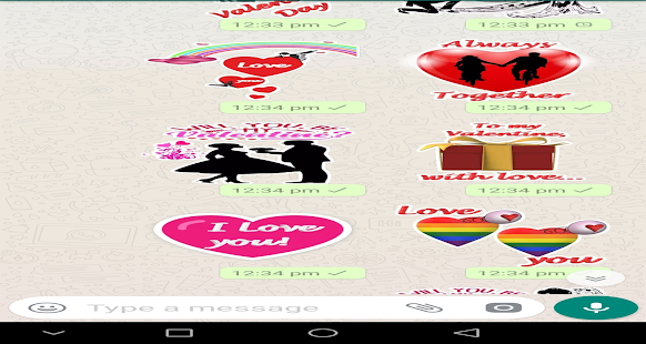 Download Love Stickers For PC Windows and Mac apk screenshot 4