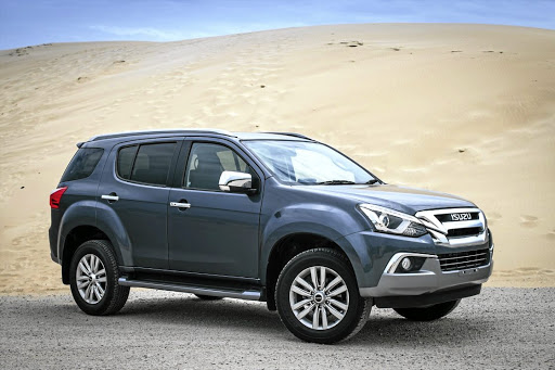 Isuzu Motors will launch its MU-X in SA at the end of 2018. Picture: QUICKPIC