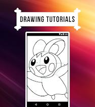 How to Draw Pokemon - screenshot thumbnail 05