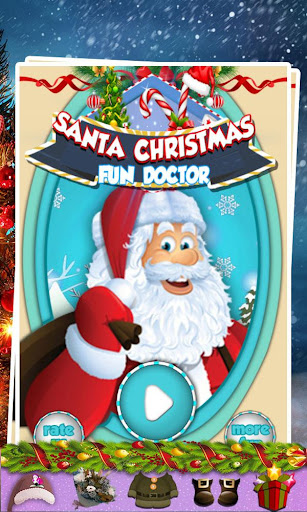 Santa Christmas Fun Doctor
