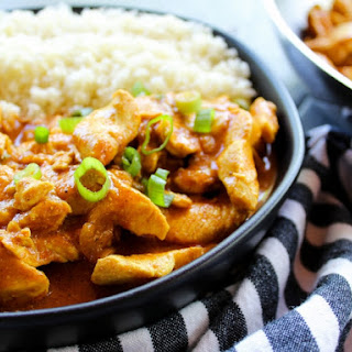 Easy Chicken Curry.
