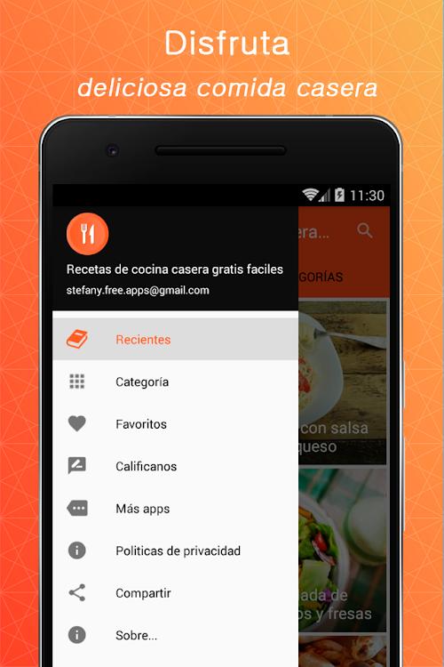 Recetas De Cocina Casera Gratis Faciles Android Aplikace