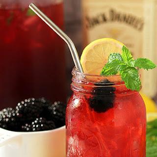 Jack Honey Sweetened Blackberry Tea.