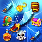 Pirate Treasure 💎Jeu Match-3