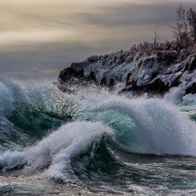 Waves by Anthony Martinez - Landscapes Beaches
