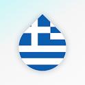 Drops: Greek language learning icon