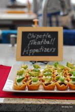 Photo: Chipotle Meatball Appetizers (http://www.pillsbury.com/recipes/chipotle-meatball-appetizers/9b0d464f-d412-490b-bb64-8d6189ea5700?src=SH)