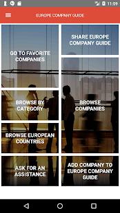 Europe Company Guide - náhled