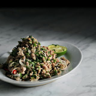 THAI HERBS and PORK SALAD Recipe