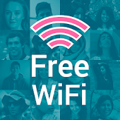 Free WiFi Passwords and Hotspots by Instabridge Icon