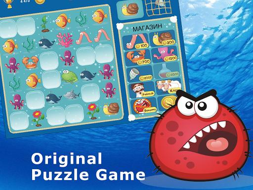 ダーウィン進化論理パズルゲームズで3連 puzzle
