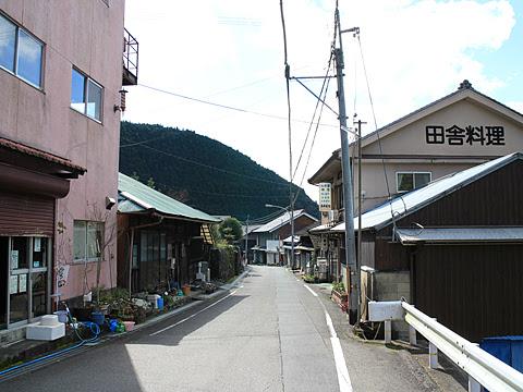 奈良交通「八木新宮線」 ・960 上野地の集落